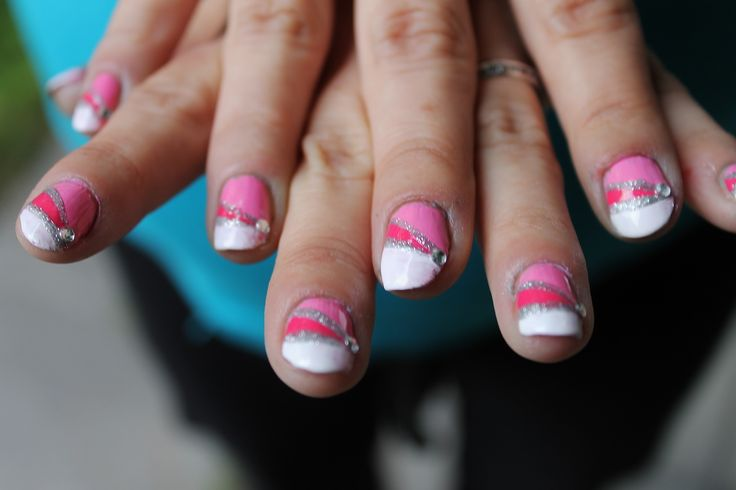 Pink nails for my friend