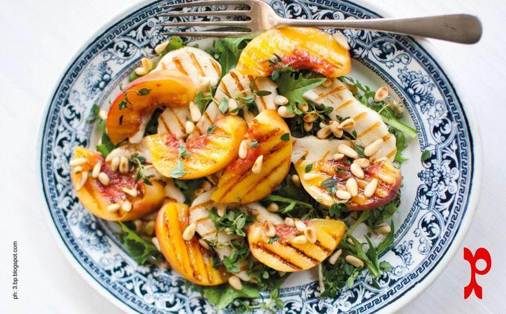 Insalata di frutta grigliata | grilled fruite salad