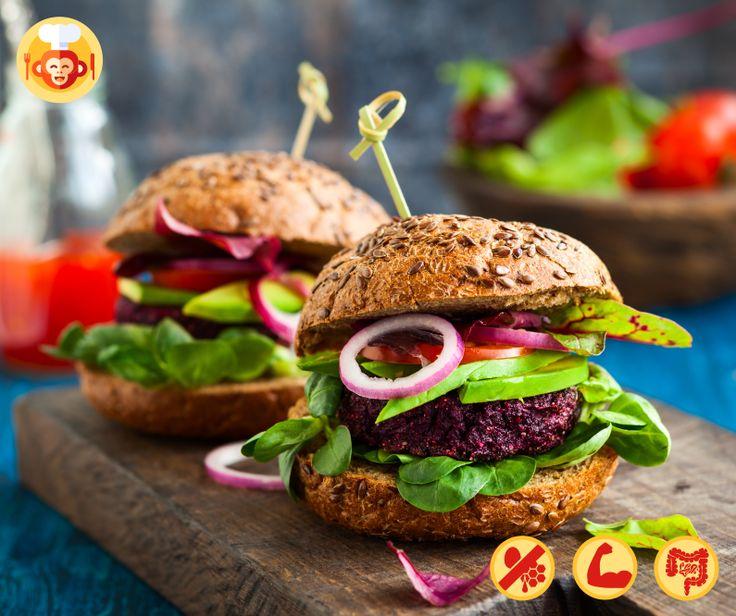 Vegan streetfood burgers with beetroots and quinoa.   #vegan #vegetarian #diet #healthy #food #foodporn #yummy #best #ideas #recipe #beetroot #quinoa #veggies #greens #onion #homemade #cooking #baking #streetfood