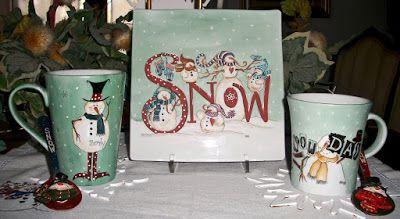 Natale e Porcellane: Dolce pausa invernale