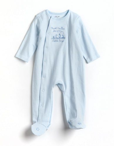 """Kids'   Newborn Boys 0-9 Months   Newborn Boys 0-9 Months """"Thank Heaven for Little Boys"""" Footsies - Smart Value   Lord and Taylor"""
