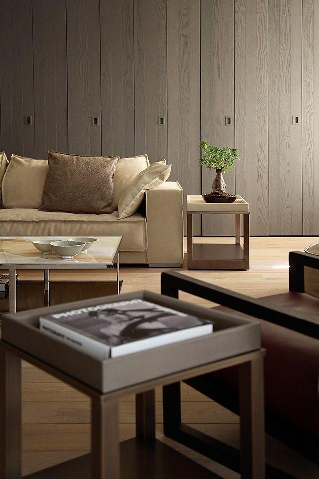 Moderne koloniale woonkamer | Interieur inrichting - Ideeën voor het ...