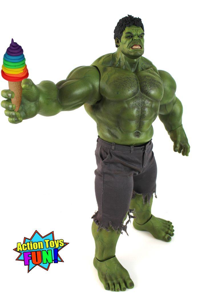 Hulk make DIY Play-Doh Rainbow Swirl Ice Cream cone Youtube video!  #hulk #diy #howto #howtomake #hulkmake #eatplaydoh #hulkeating #hulkeatsplaydoh #hulkhands #hottoyshulk #playdohicecream #icecream #dessert