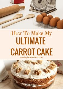 How to make my ultimate carrot cake