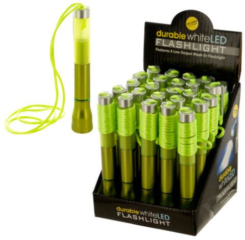 led flashlight pen countertop display Case of 25