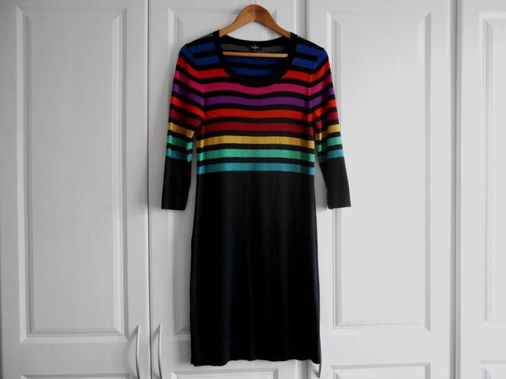 Hobbs rainbow dress