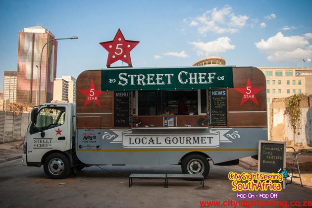Food Trucks form part of the market too.  http://citysightseeing-blog.co.za/2014/10/15/a-new-market-in-town-johannesburg/