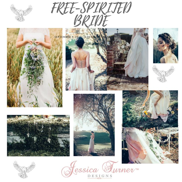 Are you a free-spirited bride or want to be one for your wedding day.  Visit the link to see more