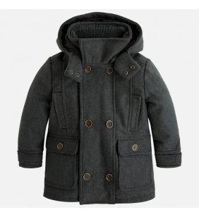 Chlapčenský kabát Mayoral - sivý