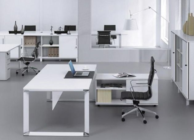 Tips for home office design: desks, tables, chairs, lighting, organization