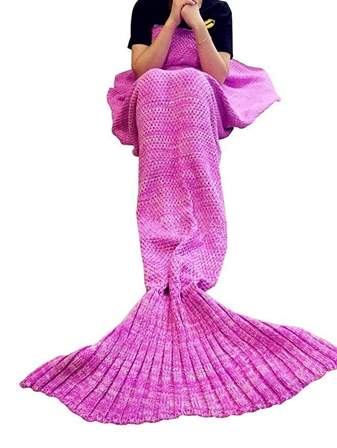 Ladies Christmas Gifts.10 88 Mermaid Tail Blanket For Ladies Christmas Gifts For