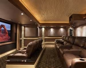 Leesburg Theater Modern Media Room Dc Metro By Encore Custom Audio Video