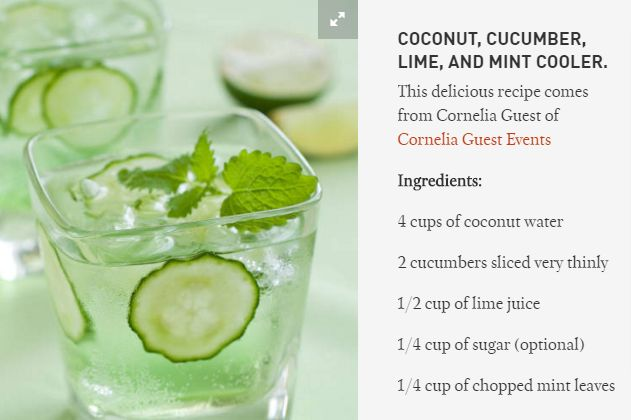 Image result for cucumber cooler recipe