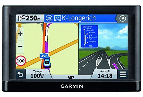 Garmin nüvi 55 LMT CE – GPS Auto écran 5 pouces – Info Trafic et carte (22 pays) gratuits à vie: Ecran lumineux de 5 pouces à double…