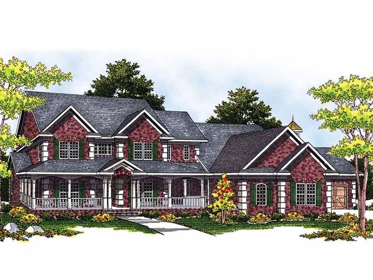 247 best farmhouse images on pinterest country house plans country houses and dream house plans