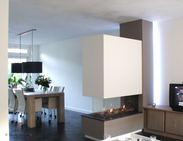 OBJECTdesign - gashaard / inbouw : Bellfires - Roomdivider Large