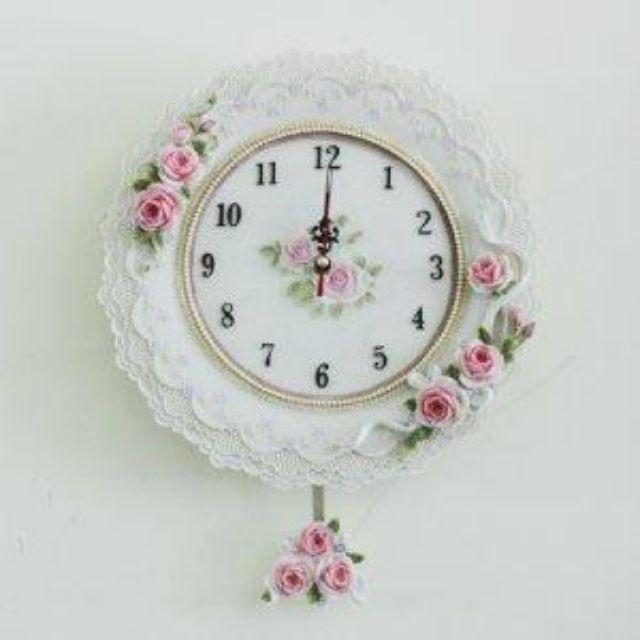 Romantic Chic Wall Clock