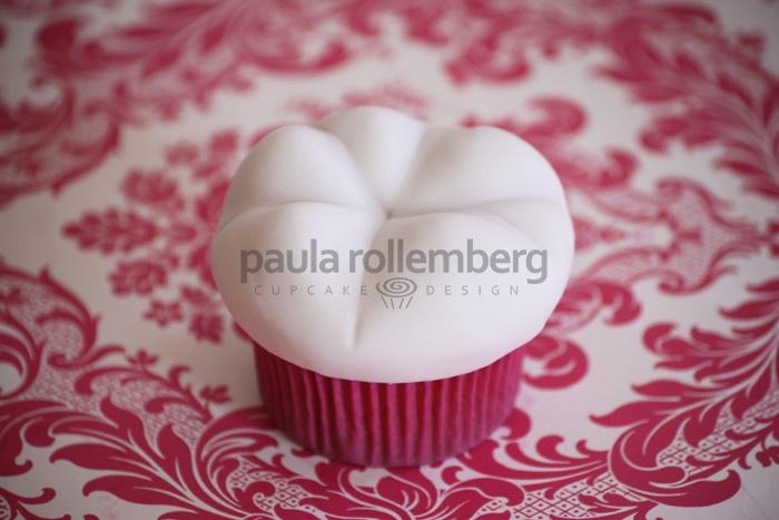 Cupcakes de dentes molares