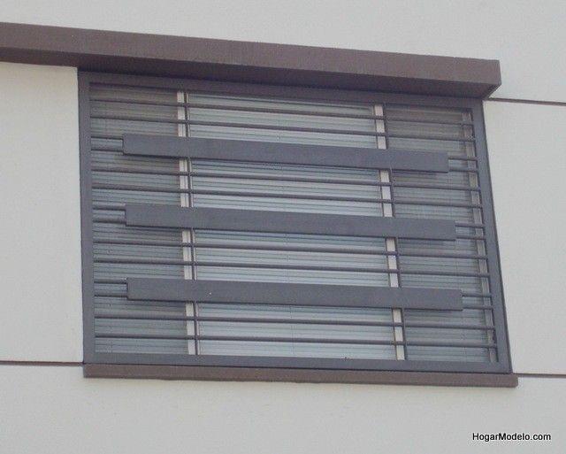 M s de 25 ideas incre bles sobre rejas modernas en pinterest for Puertas estilo moderno