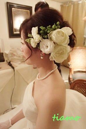 素敵なお二人の神前式とレストラン披露宴♡素敵な一日 | 大人可愛いブライダルヘアメイク 『tiamo』 の結婚カタログ