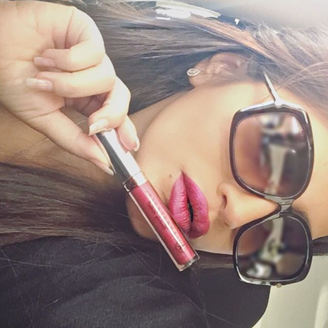 WEBSTA @ athari.blogger - Anastasia Liquid Lips Lipstick - Sugar Plum 💋رقمها في البوتيك ٥٧٥