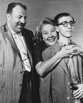 The original Marion Hollander on Broadway - Vivian Vance (from I Love Lucy) here with Woody Allen - was recast soon after.