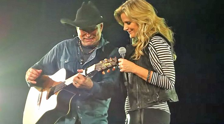 Country Music Lyrics - Quotes - Songs Trisha yearwood - Garth Brooks Gives In To Crippling Emotions During Chilling 'Walkaway Joe' Duet - Youtube Music Videos https://countryrebel.com/blogs/videos/garth-brooks-gives-in-to-crippling-emotions-during-chilling-walkaway-joe-duet