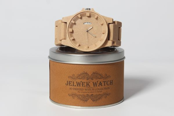3ders.org - Jelwek launches 3D printed, wood filament watch collection | 3D Printer News & 3D Printing News