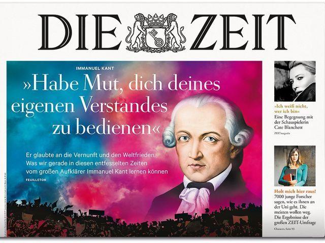 Was bleibt von Immanuel Kant? http://www.zeit.de/2015/49/philosophie-immanuel-kant-vermaechtnis-philosophen