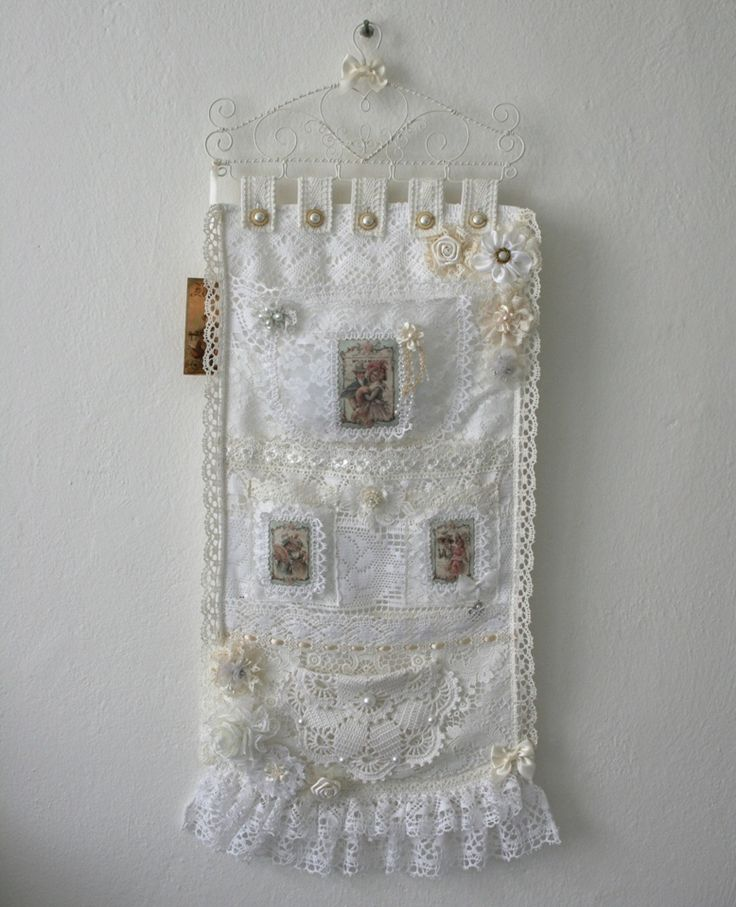 1000 images about my handmande stuff shabby chic for Lace home decor