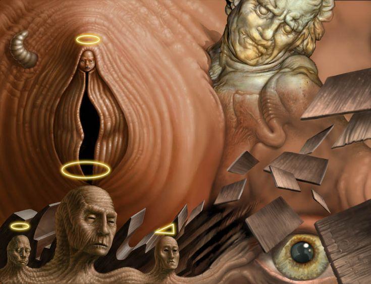 Decomposition In a Virgin Sanctity by Bernard Dumaine