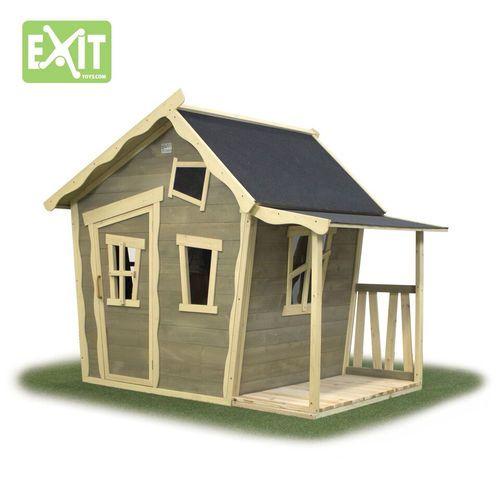 Etsitkö leikkimökkiä lapsille? Exit Crooky 150 on todella hauskan näköinen leikkimökki kuistilla! Tämä mökki ihastuttaa lapset ja pihaleikit voivat alkaa!  #leikkimökki #pihaideat #lapsille #exit