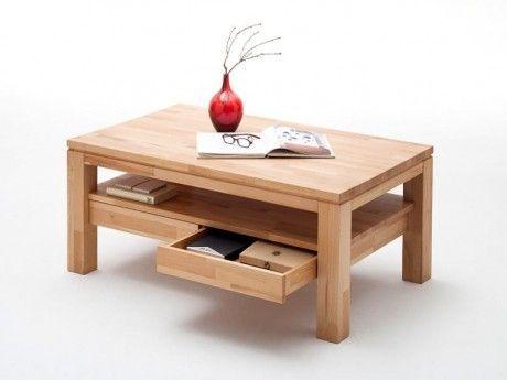 Der Couchtisch Gordon überzeugt durch: Top-Preis ✓ Top-Marke ✓ Massivholz ✓ Schudladen & Ablageboden ✓ klassisches Design ✓