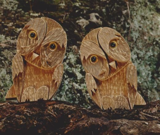 owls from BottegaMichelangeli on Etsy