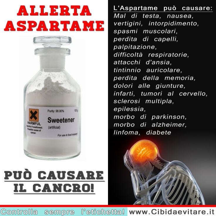 L'aspartame è un dolcificante pericoloso!