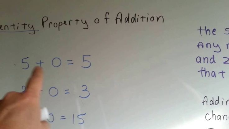 Grade 3 Math #1.1d, Identity Property of Addition