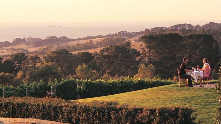 Red Hill Estate, Mornington Peninsula, Melbourne, Australia. From Australia.com via Bradley Hogge