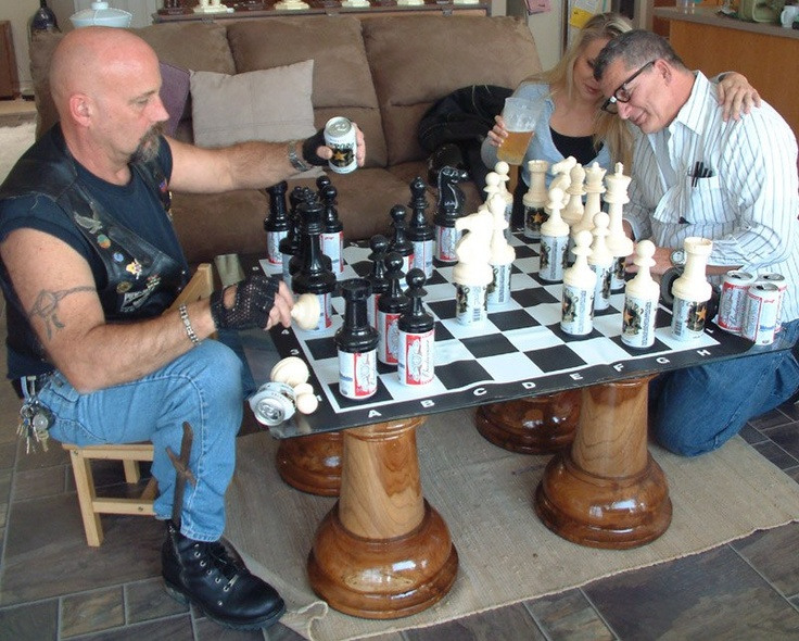 Crappy Beer Chess #Beer #Chess · Game OfFunny ...