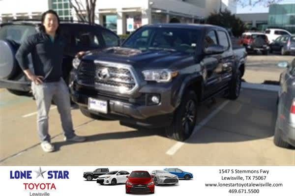 Congratulations Scott on your #Toyota #Tacoma from Collin McAdams at Lone Star Toyota of Lewisville!  https://deliverymaxx.com/DealerReviews.aspx?DealerCode=E208  #LoneStarToyotaofLewisville