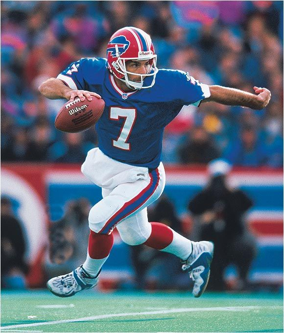 Doug Flutie one of the best quarterback of football. Met him in person and was a great person!