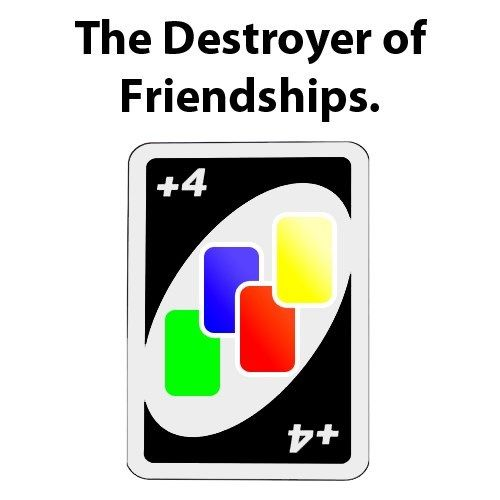 Nothing tests relationships like uno