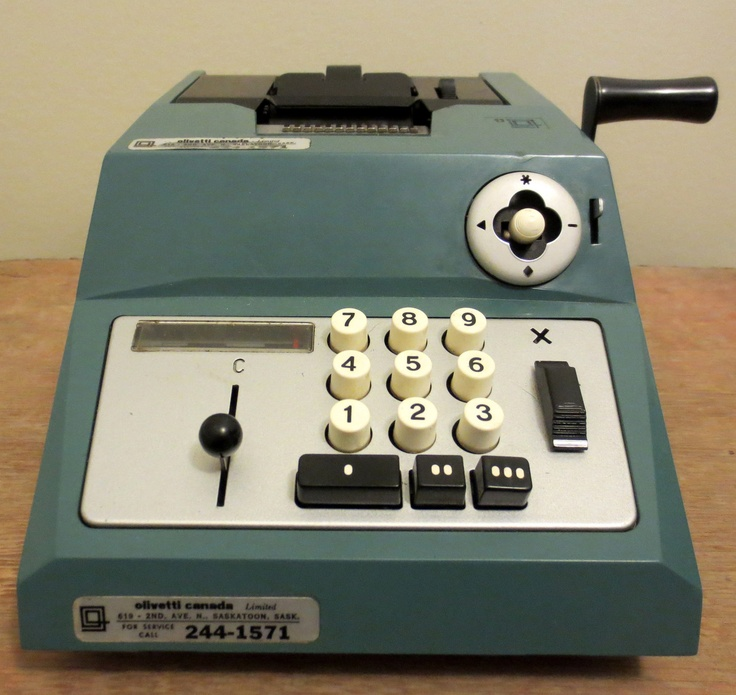 adding machine calculators