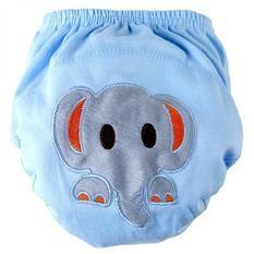 Baby Boys Cartoon Elephant Training Pants Toddler Cotton Underwear