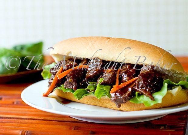 Asian BBQ Beef Strips Recipe - RecipeChart.com