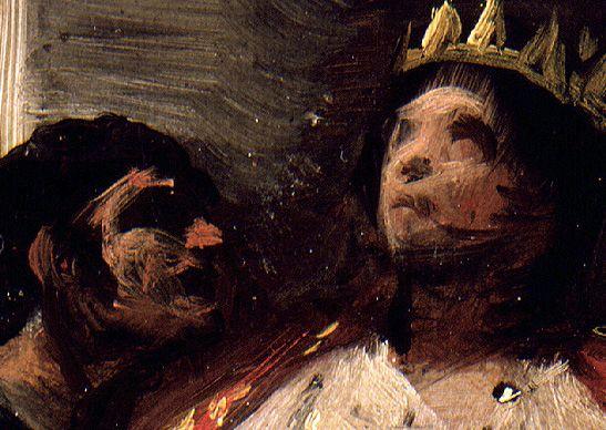 """Pinturas de Goya en el Museo Lázaro Galdiano (5): """"San Hermenegildo"""" y """"Santa Isabel de Portugal"""""""
