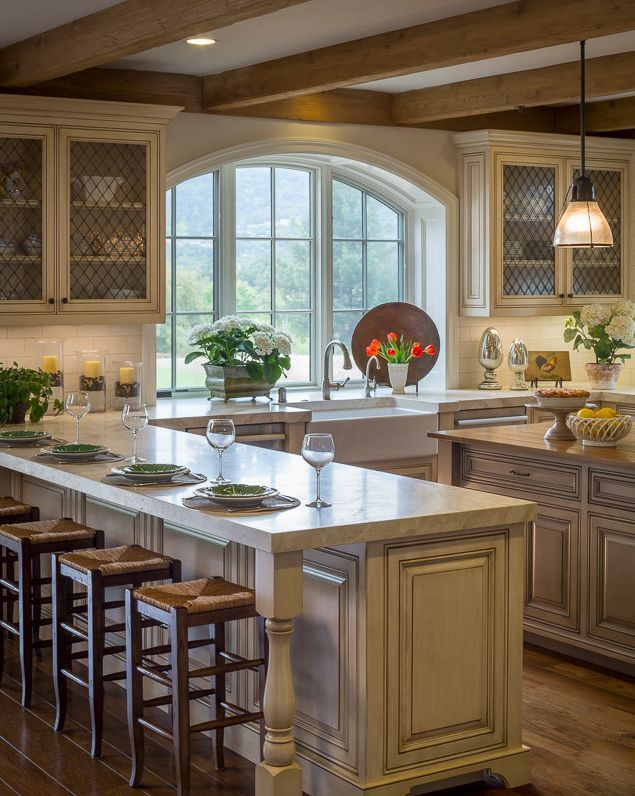 Pin By Jane Pierson On Kitchens French Country Kitchens Country