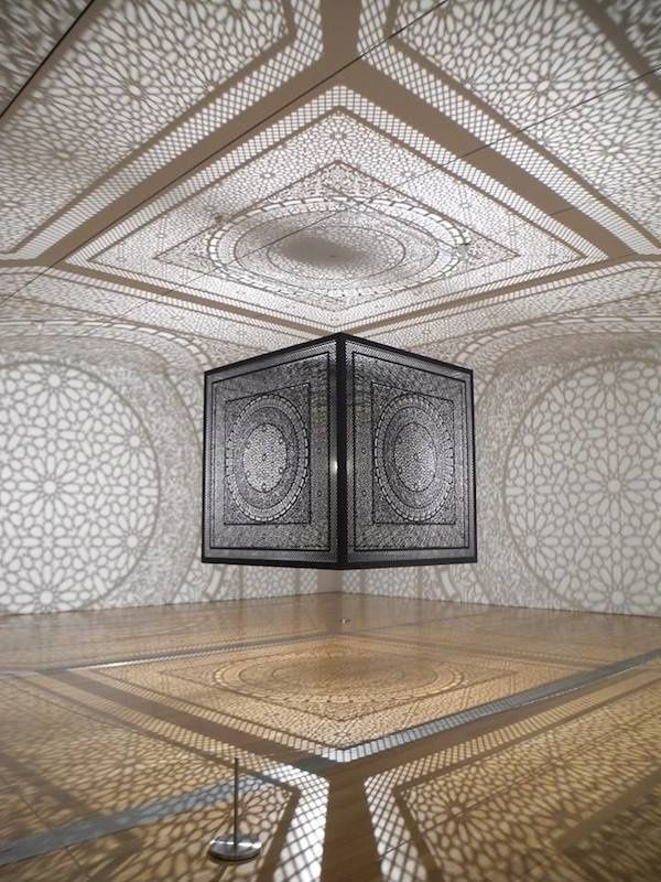Laser-Cut Sculpture Casts Intricate (Prize-Winning) Shadows | The Creators Project