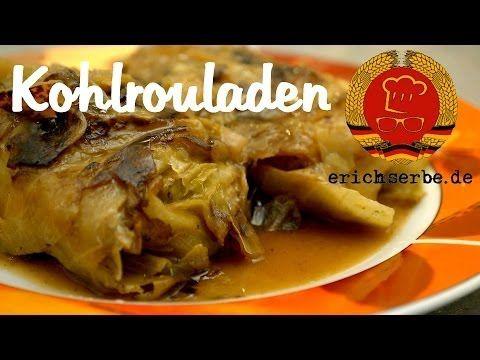 Kohlrouladen (von: erichserbe.de) - Essen in der DDR: Rezepte für ostdeutsche Gerichte - Erichs kulinarisches Erbe.  Been looking for a recipe that did not include tomatoes.