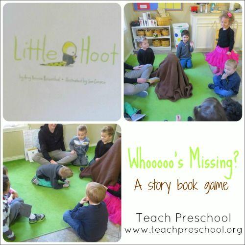 Whoooo is missing by Teach Preschool