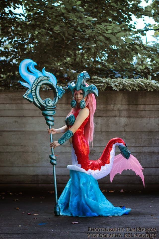 League of Legends Nami Cosplay